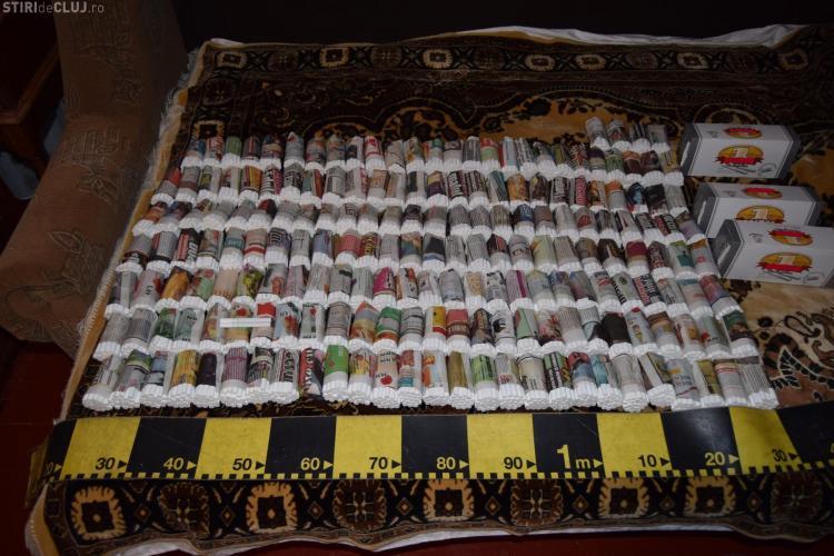 Două clujence și-au amenajat acasă o mini fabrică de confecționat țigări - FOTO