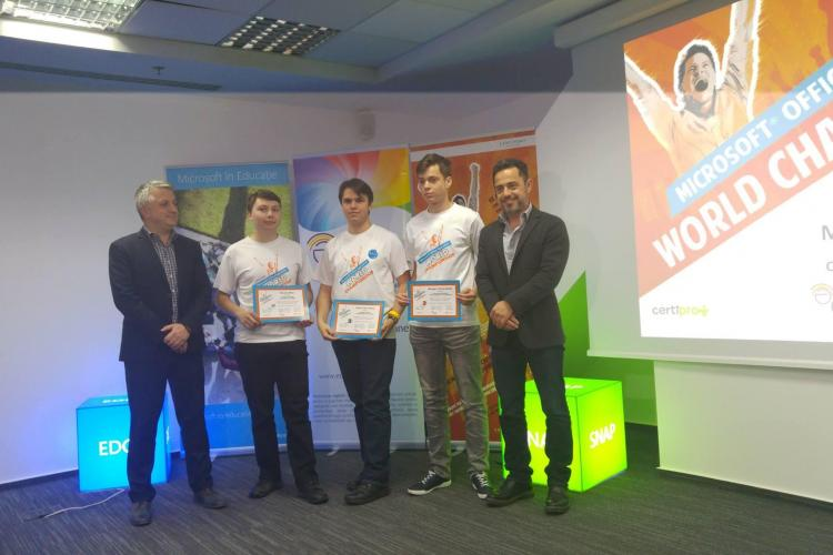 Elev clujean calificat la o competiție internațională a Microsoft - FOTO