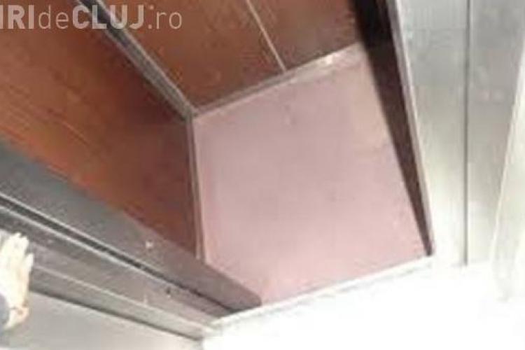 Liftul de la un spital din Cluj-Napoca s-a prăbușit, cu două persoane în interior