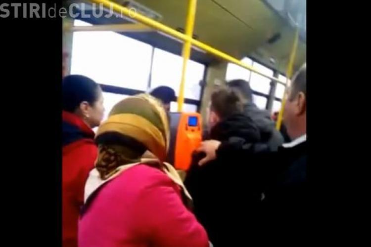 Clujeancă bătută în autobuz, între Floreşti și Cluj-Napoca. Motivul este HALUCINANT