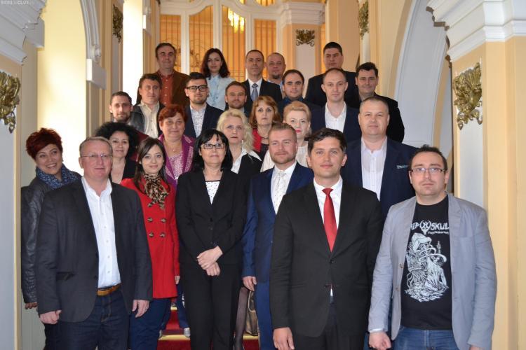 Candidații Alianței electorale PSD+ALDE și-au depus dosarele de candidatură la Biroul Electoral Municipal
