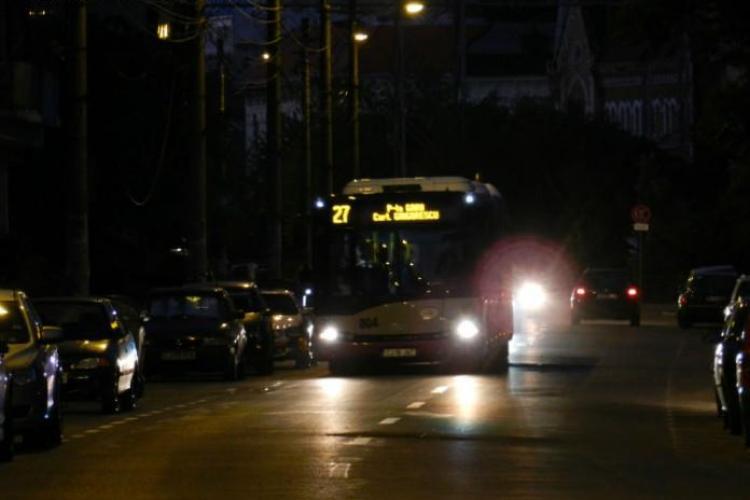 Transport public de noapte în Cluj-Napoca de Rusalii