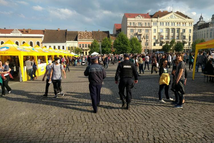 Recomandările polițiștilor clujeni pentru participanții la evenimentele din weekend, de la Cluj