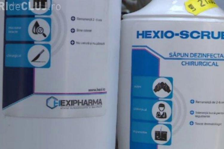 """Hexi Pharma: Am tăcut destul! Reacţie în scandalul dezinfectanţilor. Profită producătorii externi și unele """"persoane"""""""