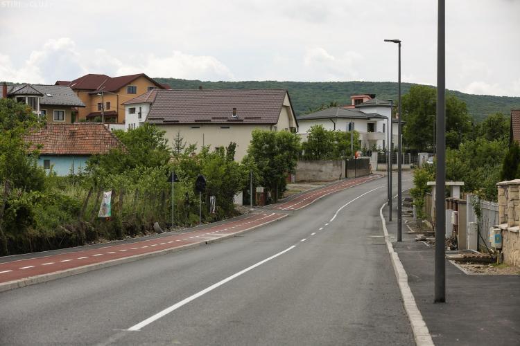 Strada Făget a fost redată circulației rutiere - FOTO