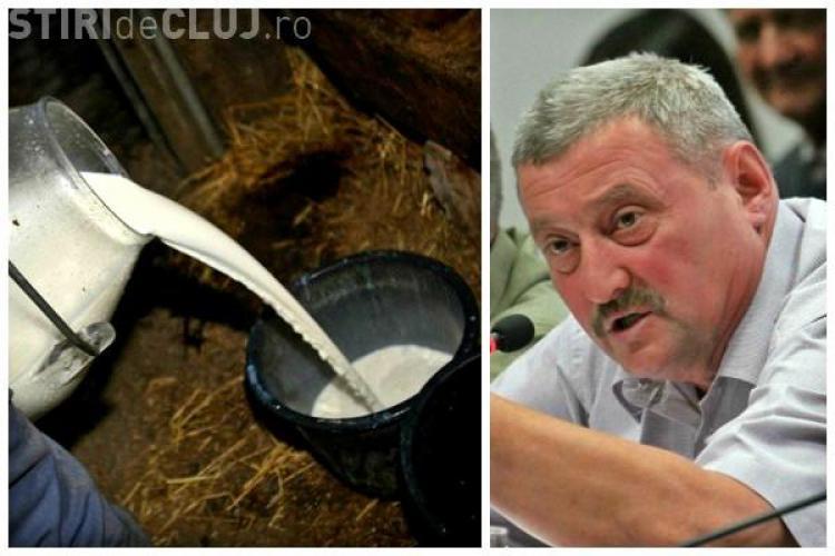 Fermier clujean: Dau laptele la canal și trimit vacile gestante la abator