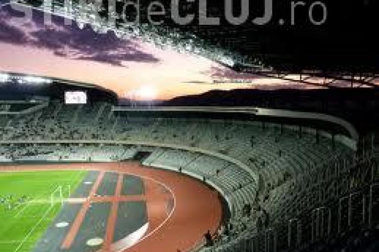 Meciurile de la Euro 2016, difuzate pe Cluj Arena. Clujenii pot vedea meciurile României de pe stadion