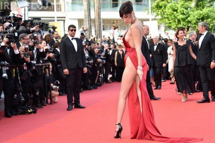 Supermodelul Bella Hadid, poze de infarct la Cannes - FOTO