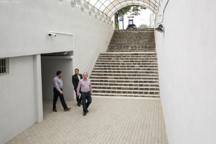 Pasajele pietonale de pe Calea Florești, redeschise după renovare. Cât vor REZISTA așa - FOTO