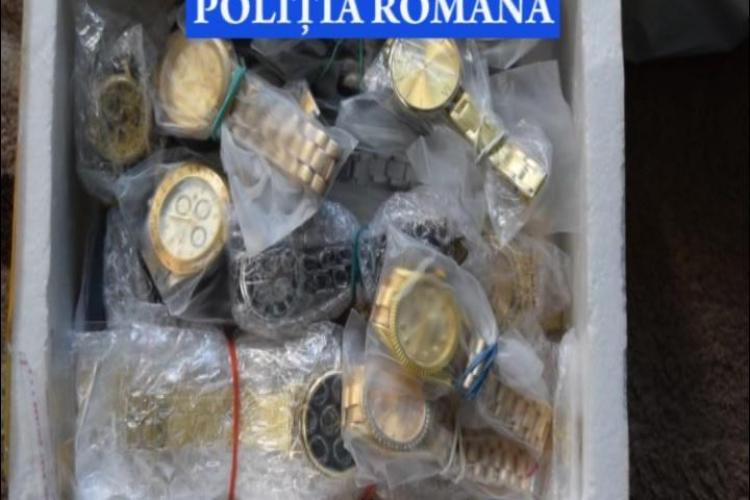 Cluj: 5.000 de produse contrafăcute, confiscate. Marfa valora 350.000 de euro