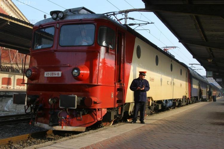 Se modifică circulația trenurilor din Cluj, din cauza unor lucrări la infrastructura feroviară