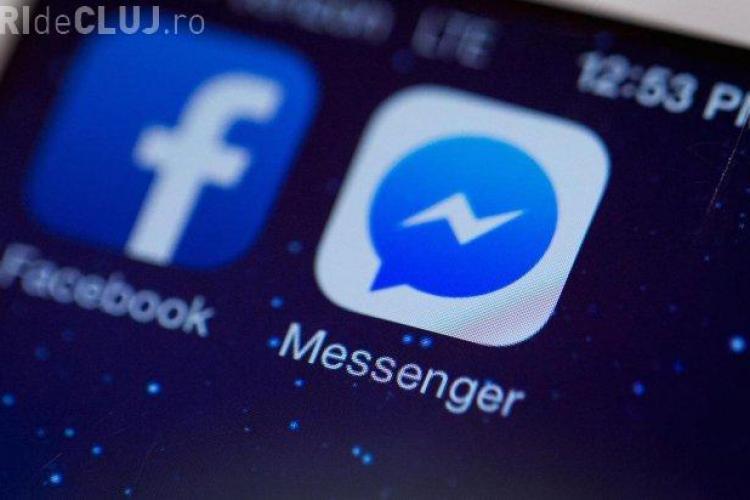 Eroare Facebook, joi seara. Facebook Messenger a dat rateuri