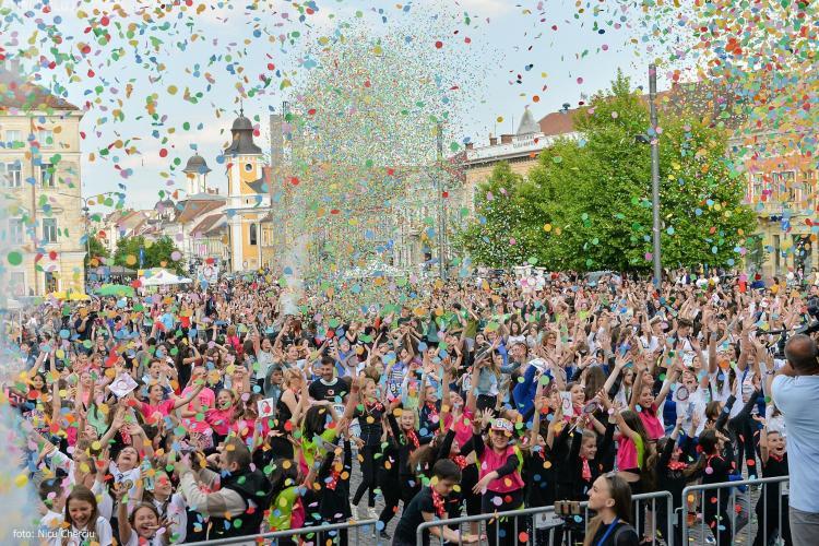 Zilele Clujului 2016. Au fost 70.000 de spectatori în fiecare zi - VIDEO
