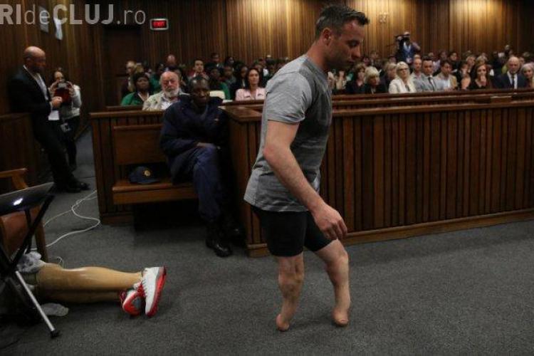 Oscar Pistorius a făcut un gest ȘOC în sala de judecată