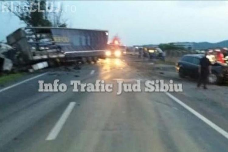 O șoferiţa a intrat într-un TIR. S-a sinucis din gelozie