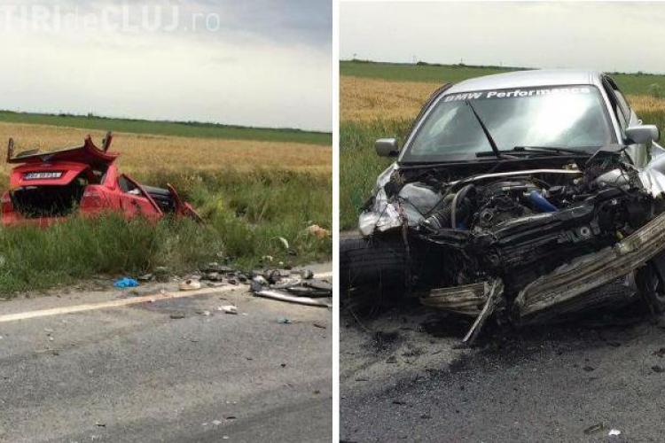 Șoferul unui BMW cu numere de Cluj, vinovat de producerea unui accident mortal în Arad - FOTO