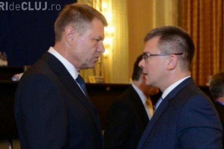 Iohannis i-a cerut șefului SIE să demisioneze. Președintele a bătut cu pumnul în masă