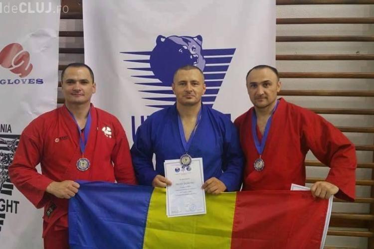 Jandarmul clujean Adrian Petre a avut succes la o compețiție Unifight
