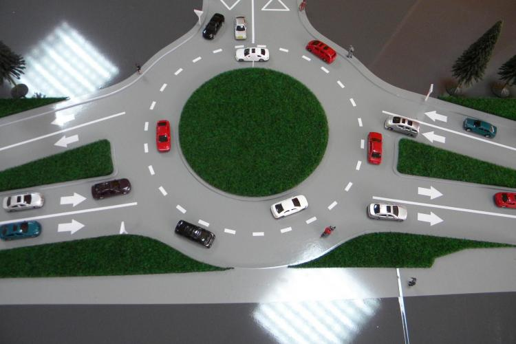 Patru noi sensuri giratorii vor fi construite în Cluj-Napoca