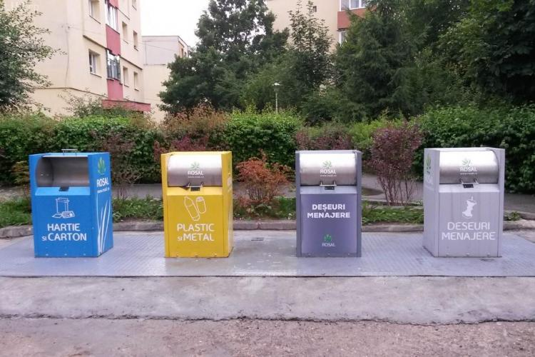 Colectarea selectivă a deșeurilor, primul pas spre reciclare. Cum se implementează acest proces la Cluj