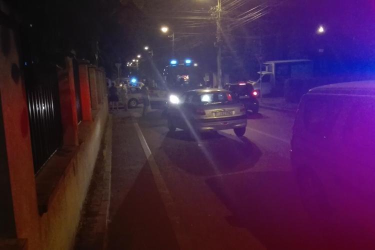 Într-o intersecție din Cluj-Napoca s-au produs 4 accidente grave într-o săptămână - FOTO