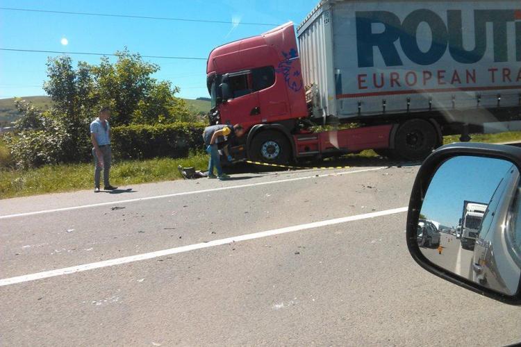 Accident în lanț în Florești! Au fost trei victime – FOTO