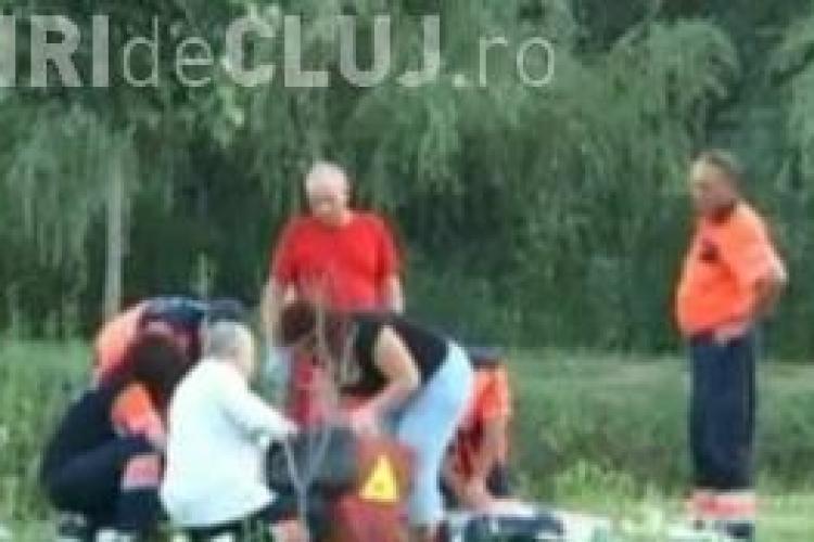 Patru jurnaliști din Cluj, bătuți de paznicii unui lac de agrement - VIDEO
