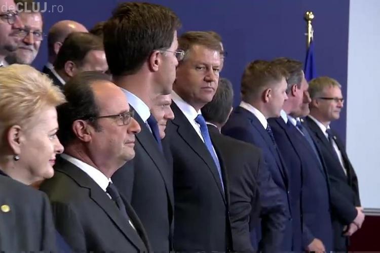 Klaus Iohannis a trăit un moment PENIBIL la Consiliul European - VIDEO