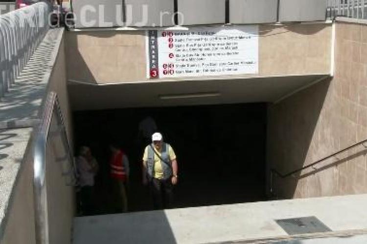 Cum vrea Primăria să mențină siguranța în noile pasaje din Piața Gării. Poliția locală stă PERMANENT în zonă