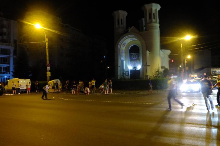 """Accident pe Dorobanților, lângă MOL: """"Făceau liniuțe"""" - FOTO"""