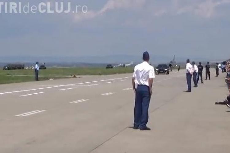 La Cluj, un MIG 21 Lancer s-a întrecut cu un BMW X6M - VIDEO