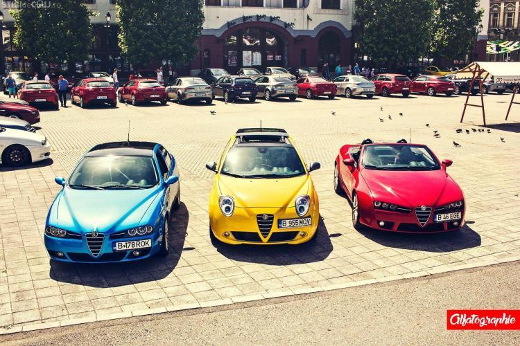 Clubul Alfa Romeo a organizat Alfafest 2016 în Maramureș - FOTO