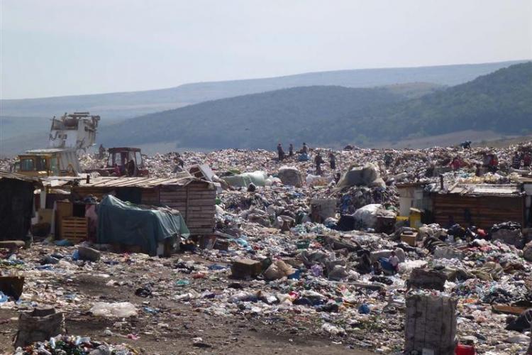 Tișe caută teren în Apahida și Feleacu pentru a face o rampă de gunoi temporară