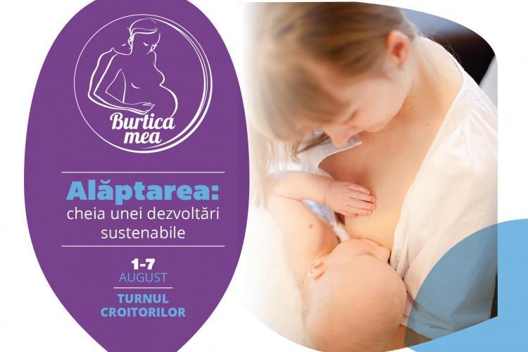 Săptămâna Internațională a Alăptării începe la Cluj-Napoca