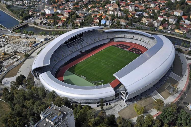 Cluj Arena va trece în proprietatea Primăriei Cluj-Napoca