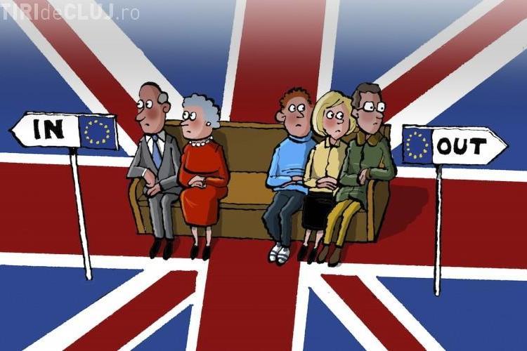 Marea Britanie a VOTAT pentru ieșirea din Uniunea Europeană