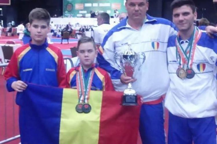Clujul are un dublu campion mondial la doar 10 ani