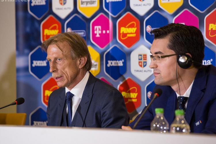 Primul meci al lui Daum pe banca României se joacă la Cluj. Când va avea loc