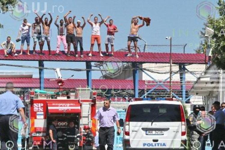 Un deţinut din Cluj a încercat să se spânzure