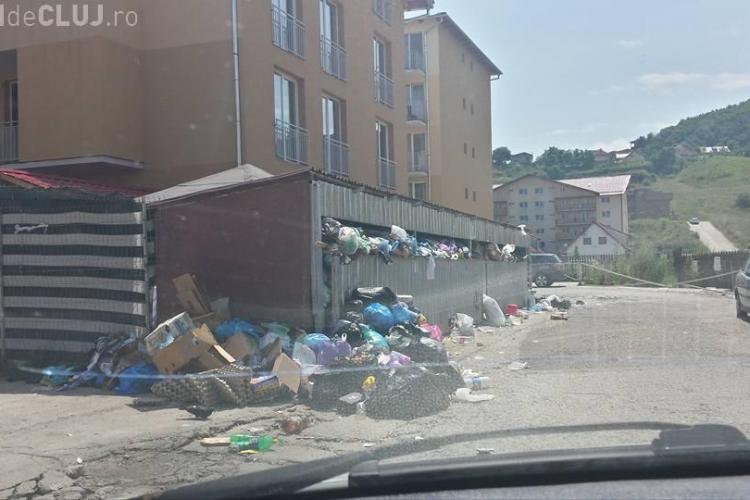 Floreștiul este sufocat de gunoaie, dar Prefectura Cluj nu a emis acordul privind starea de alertă