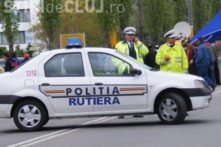 Un clujean a ajuns pe mâinile polițiștilor după ce a cauzat un accident și a fugit. Ce au aflat oamenii legii când l-au prins