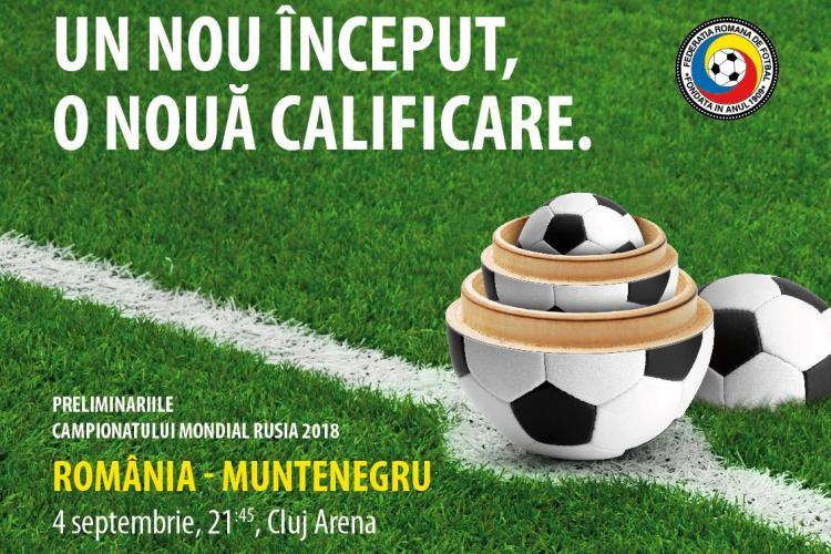Federația Română de Fotbal și Știri de Cluj te trimit la primul meci oficial al echipei naționale pe Cluj Arena
