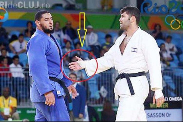 Un judoka egiptean a refuzat să dea mâna cu un israelian și a fost trimis acasă