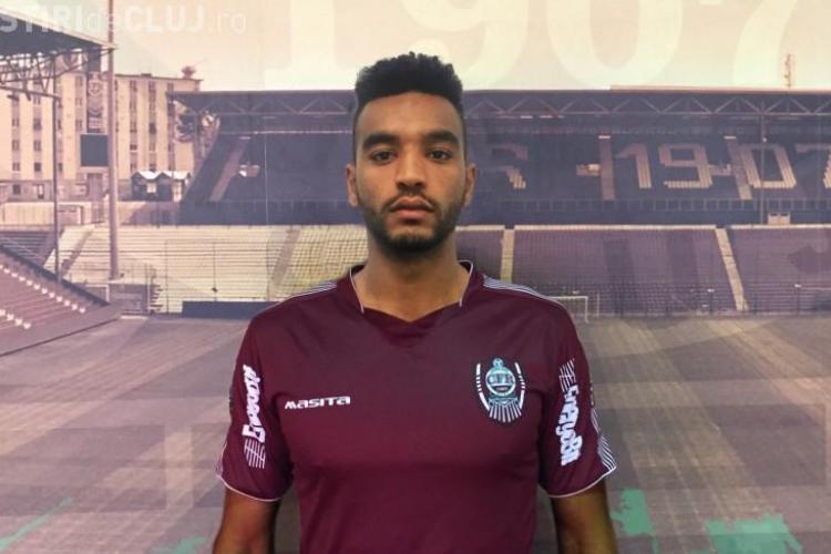 CFR Cluj a transferat un nou jucător! Omrani evoluează de azi în Gruia