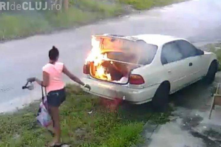 Furioasă că a fost înșelată, a dat foc mașinii. Ce șoc a avut după ce a aflat adevărul