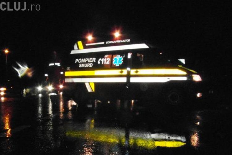 Accident grav în Mănăștur, în toiul nopții! Un minor a fost lovit de mașină în timp ce traversa strada pe roșu