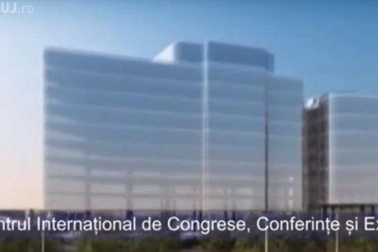 Clujul dă TONUL! Va construi cel mai mare Centru de Congrese și Expoziții din România - VIDEO