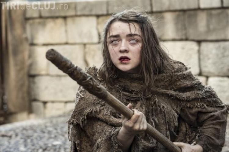"""""""Arya Stark"""" vorbește despre noul sezon din Game Of Thrones: Nimic nu vă poate pregăti pentru ce urmează"""