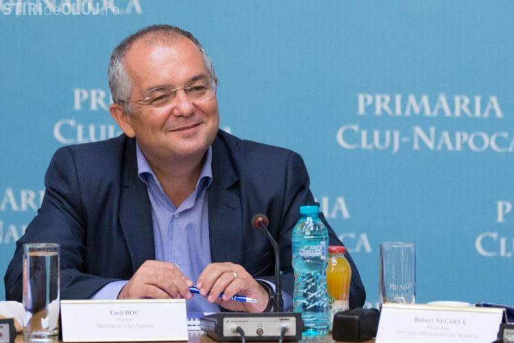 Emil Boc a fost ales președinte al Asociației Municipiilor din Regiunea de Nord - Vest- FOTO