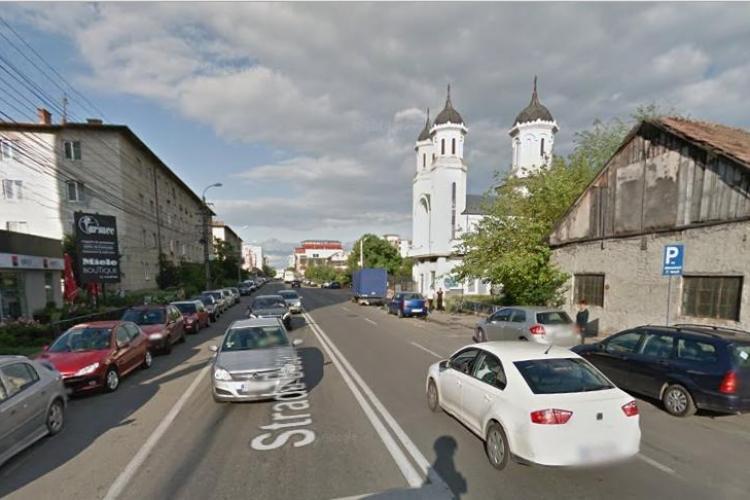 Sens giratoriu provizoriu pe strada București
